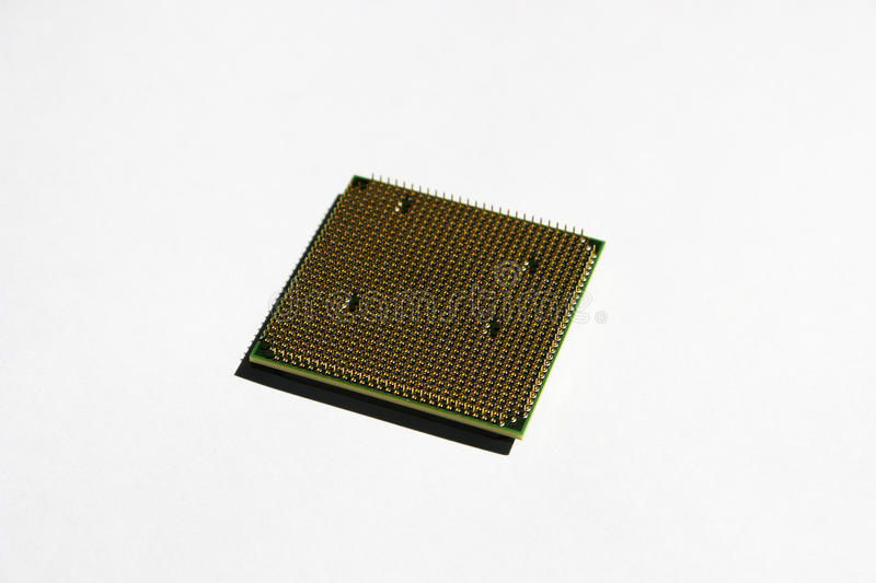 CPU back side royalty free stock photos