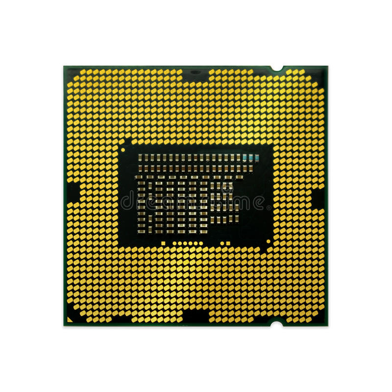 CPU (Central processing unit) royalty free stock photo