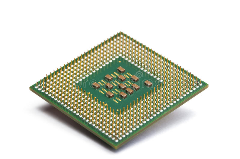 CPU chip stock photography