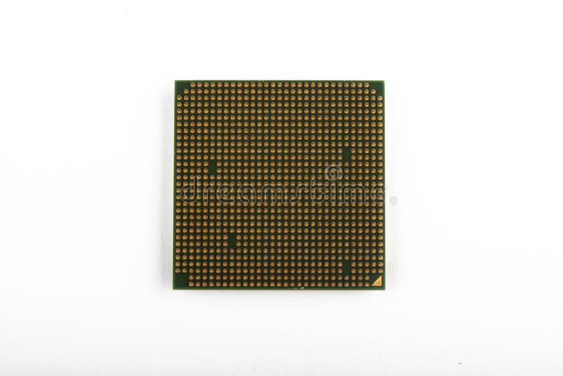 The CPU for the computer. processor close-up stock photos