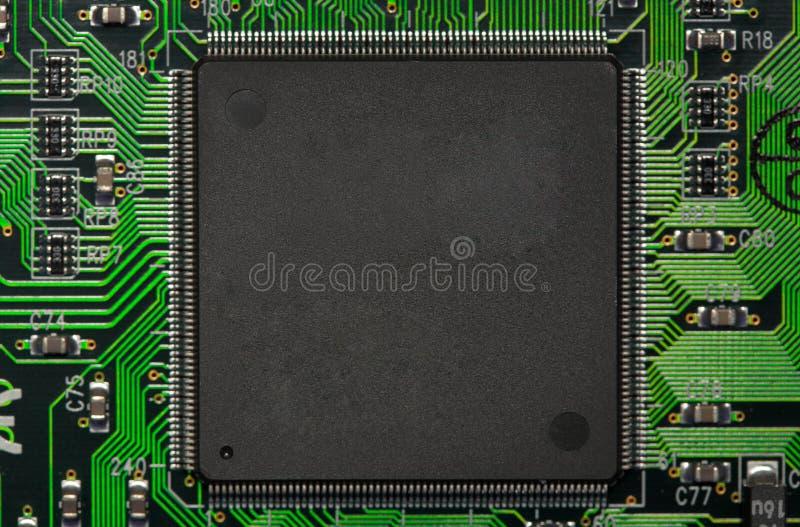 CPU-elektronik royaltyfri bild