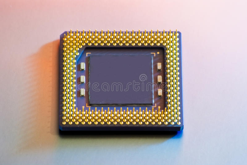 CPU isolated royalty free stock photos