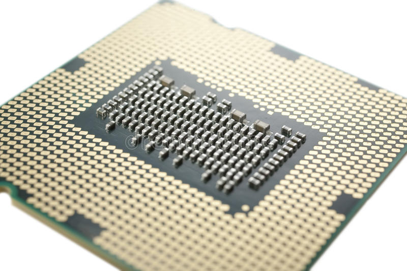 Download CPU macro stock image. Image of connection, isolated - 13326425