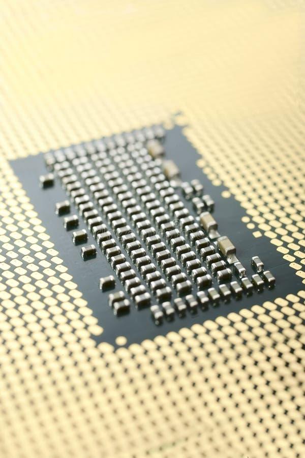 CPU Macro Royalty Free Stock Images