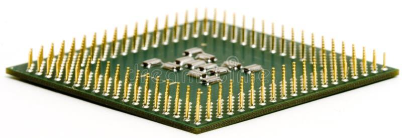CPU plana fotografía de archivo libre de regalías