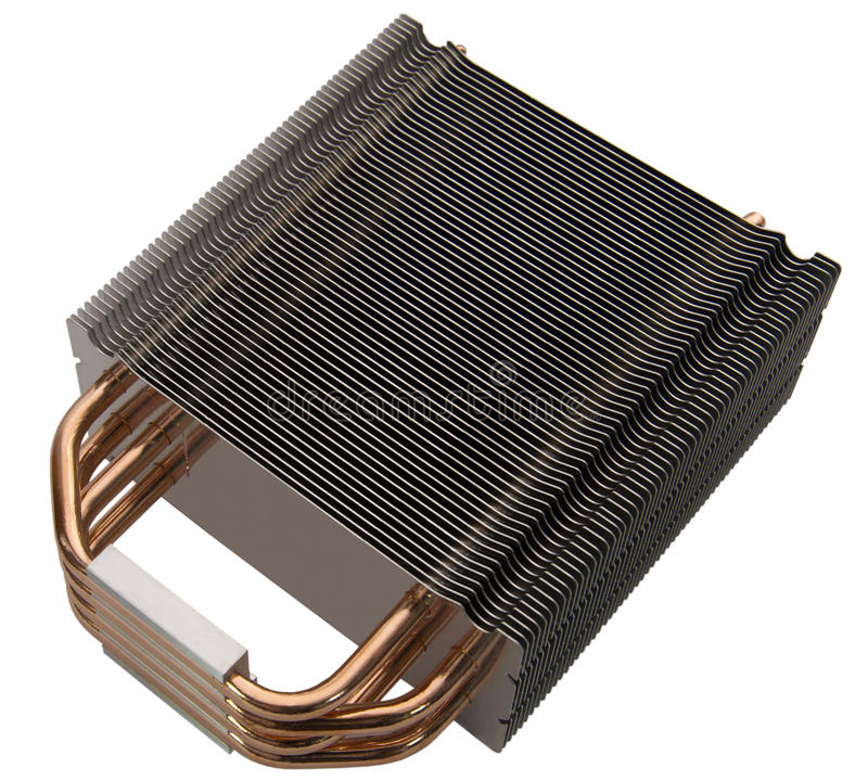 CPU radiator royalty free stock photos