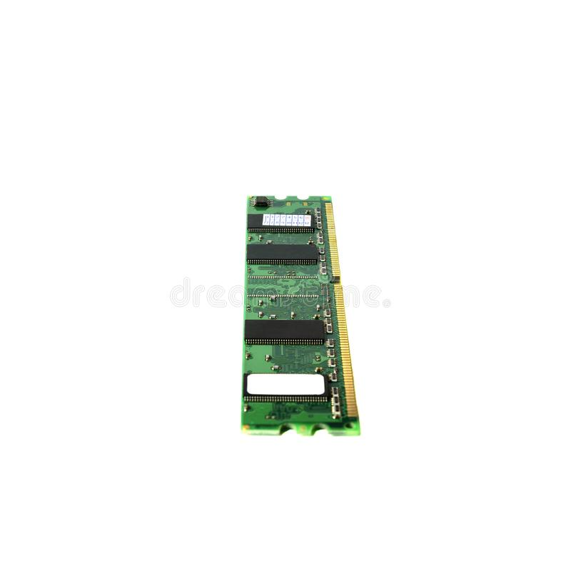 CPU ram DDR3 DDR2 DDR. Random-access memory for computer royalty free stock images