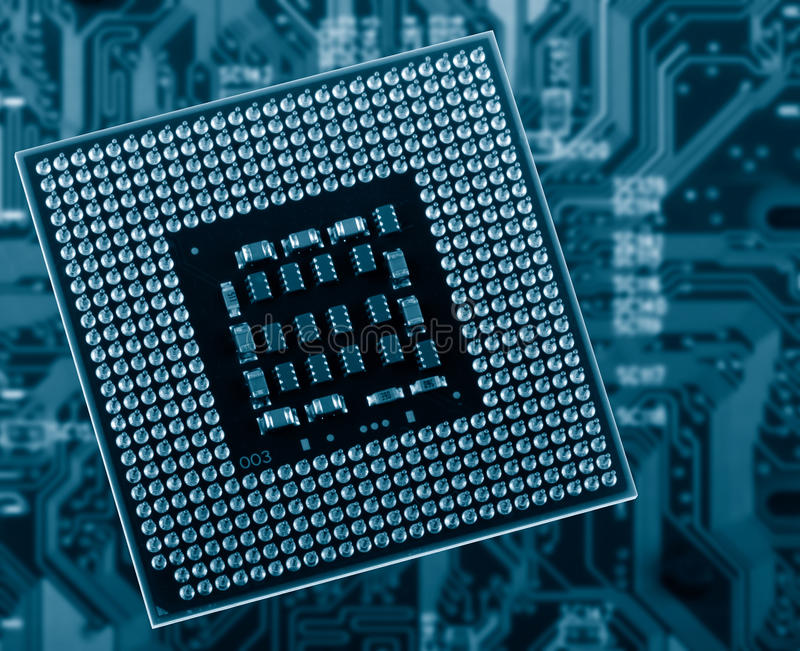 CPU's royalty free stock photography