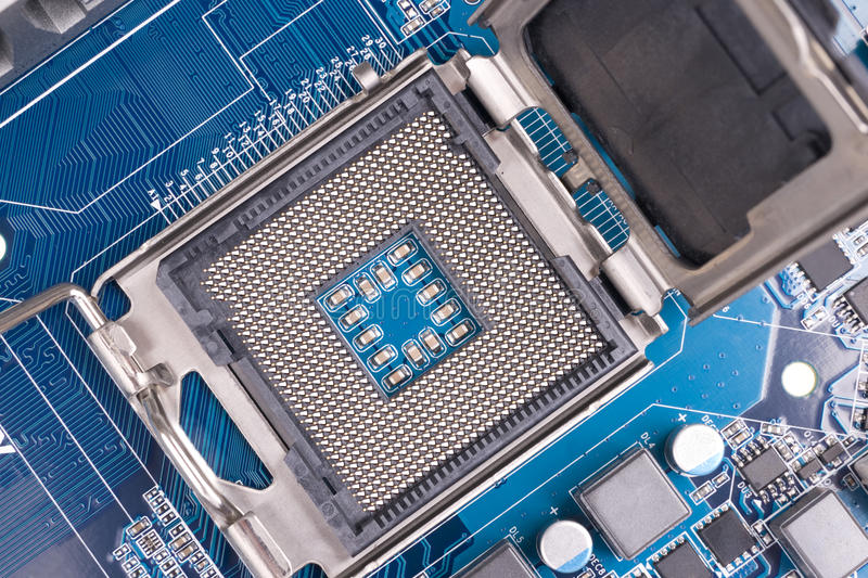Download CPU socket stock photo. Image of connection, component - 13506762