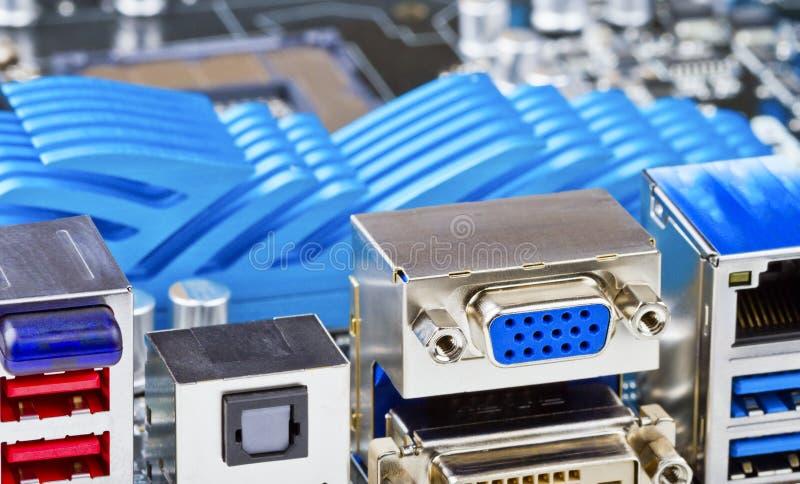 CPU Socket Stock Image