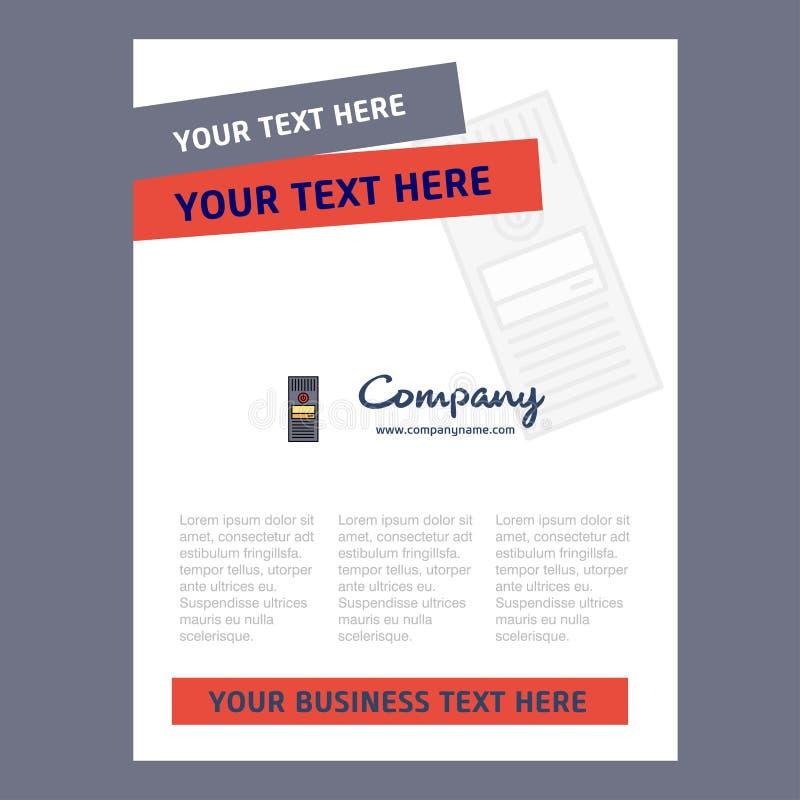 Cpu Title Page Design For Company Profile Annual Report