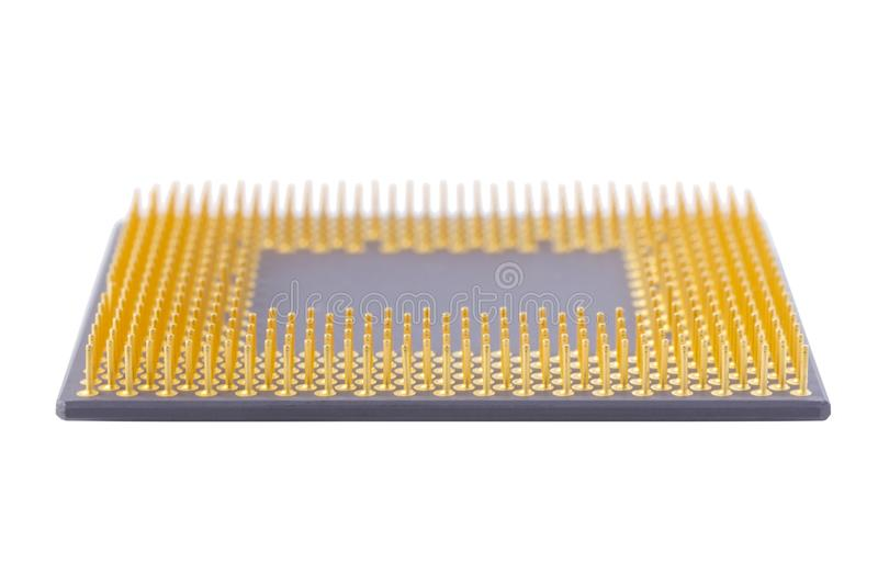 Download Cpu on white background stock photo. Image of computer - 26623196