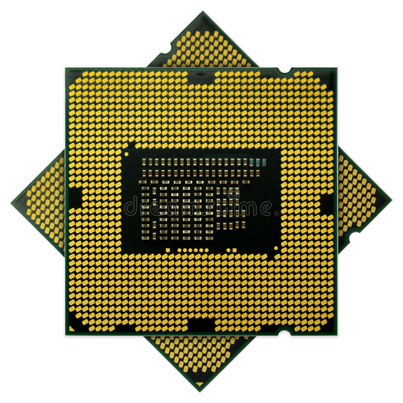 CPUs (Central processing units) royalty free stock photos