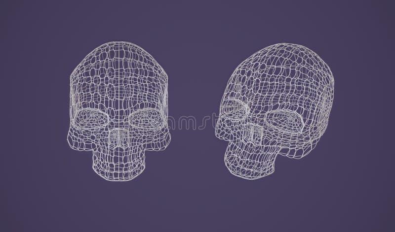 Cráneo - cabeza libre illustration