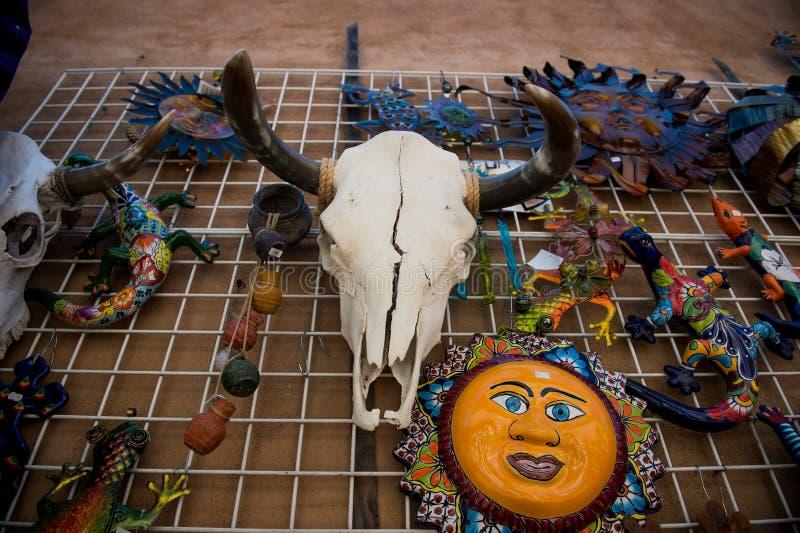 Cráneo Cabeza de la vaca fotografía de archivo