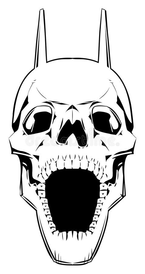 Cráneo del demonio. libre illustration
