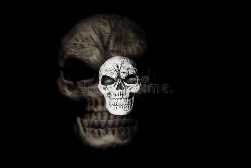 Cráneo del fantasma imagenes de archivo