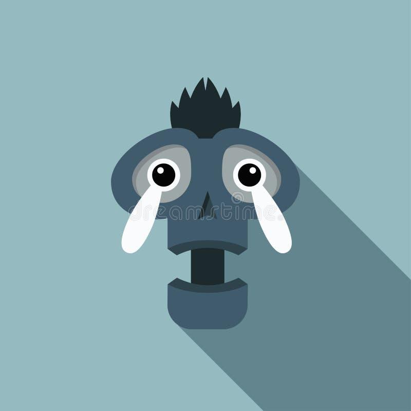 Cráneo del grito imagen de archivo libre de regalías