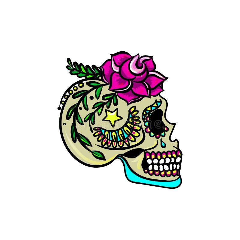 Cráneo dulce imagen de archivo