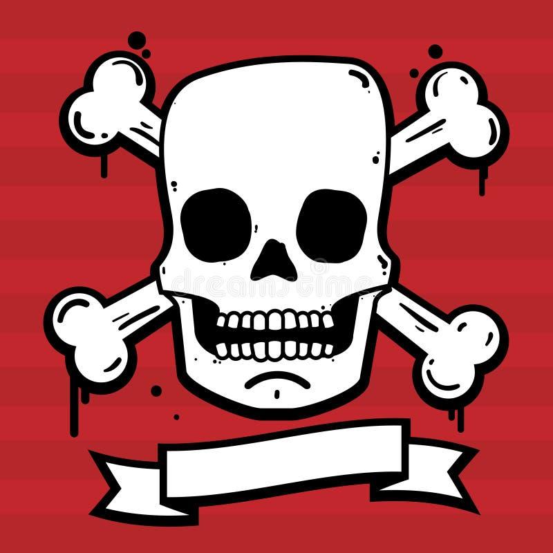 Cráneo urbano libre illustration