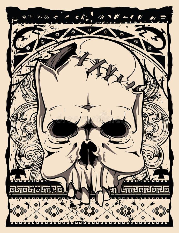 Cráneo nativo libre illustration