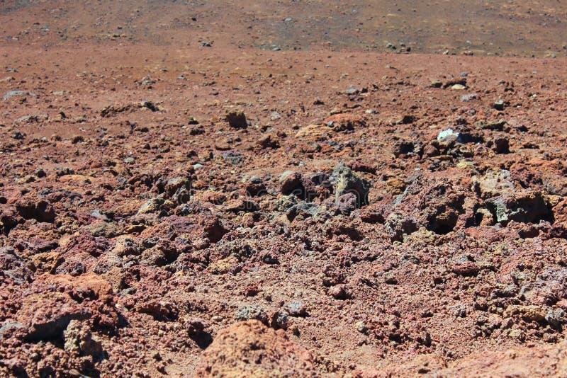 Cráter del volcán fotos de archivo