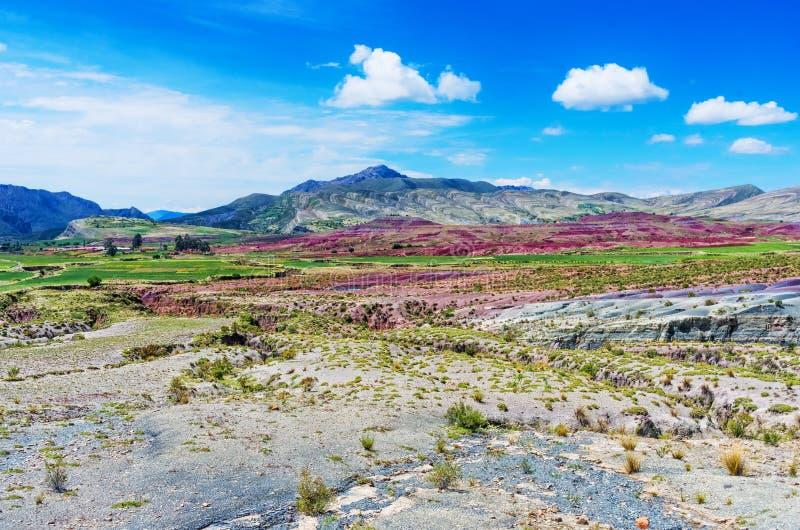 Cráter del volcán Maragua, Bolivia fotos de archivo libres de regalías