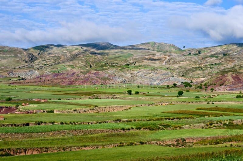 Cráter del volcán Maragua, Bolivia foto de archivo libre de regalías