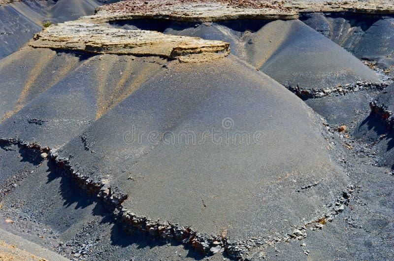 Cráter del volcán Maragua, Bolivia fotografía de archivo libre de regalías