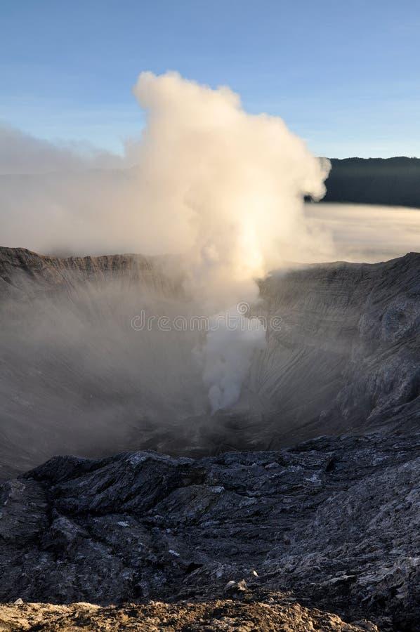 Cráter interior fotografía de archivo libre de regalías