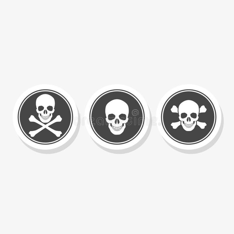 Rolling Pin-Crâne et os croisés