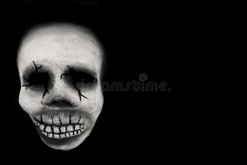 Crâne de mardi gras photographie stock libre de droits