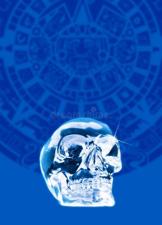 Crâne en cristal illustration libre de droits