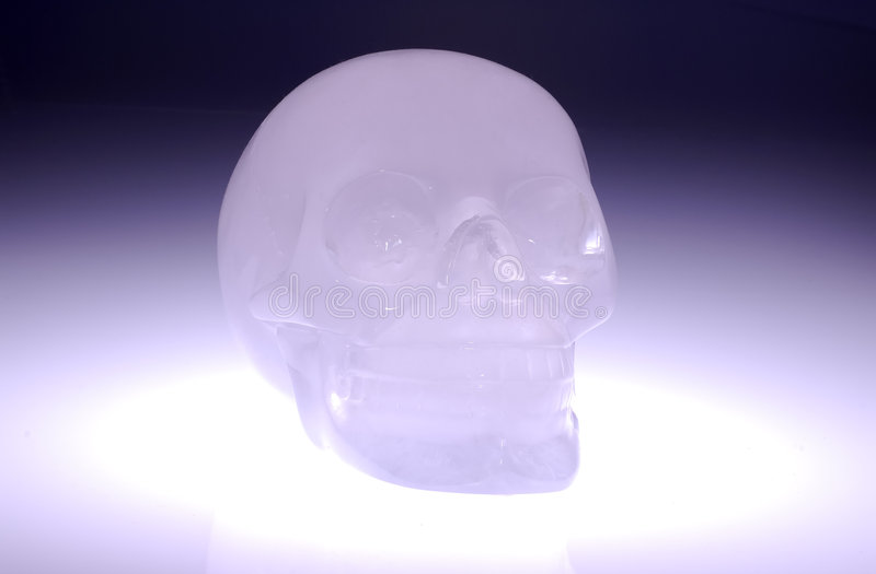 Crâne en verre