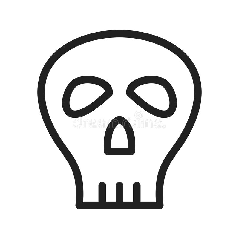 Crâne II de pirate illustration stock