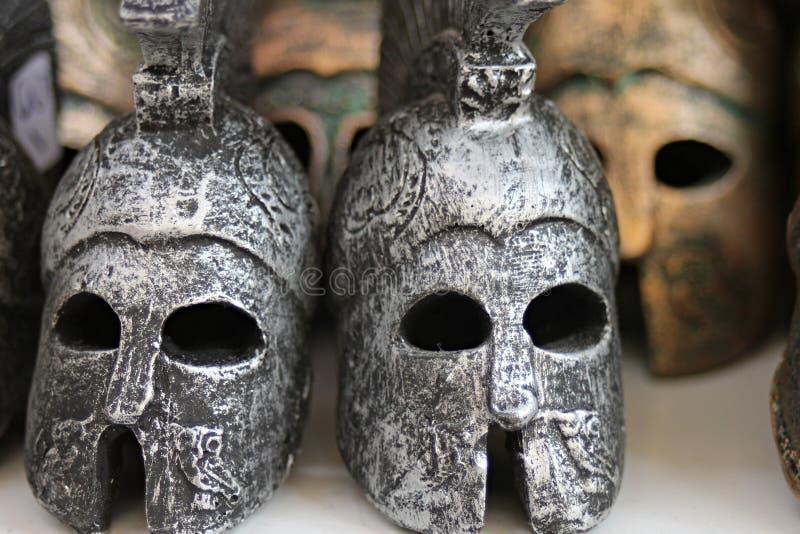 Crâne, masque, objet façonné, masque images libres de droits