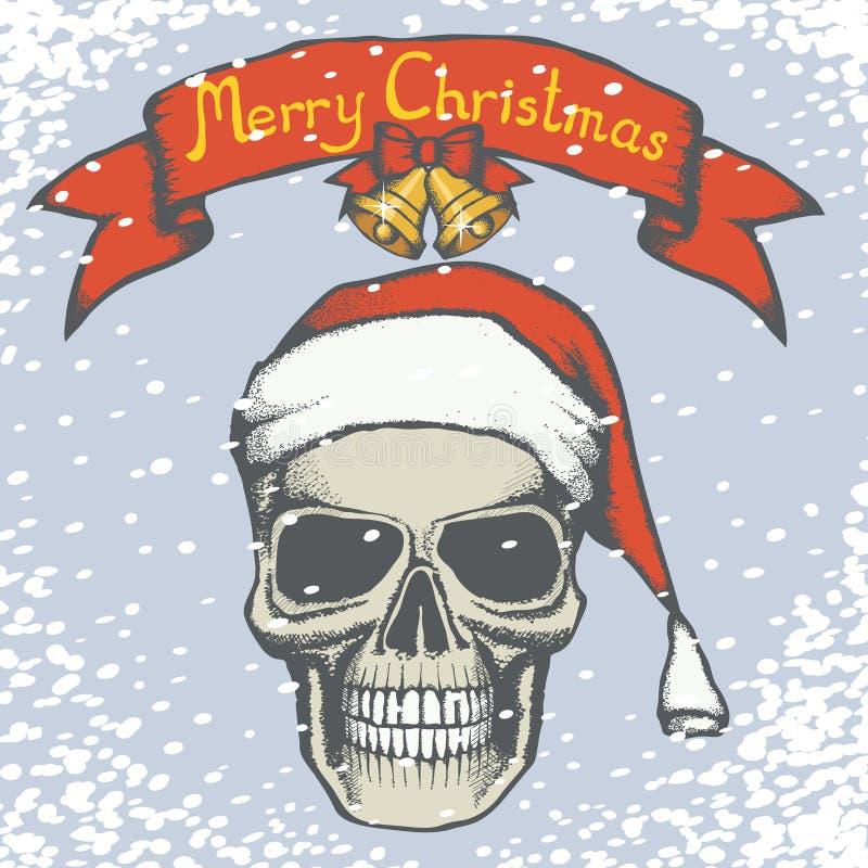 Crâne nouveaux 01 illustration stock
