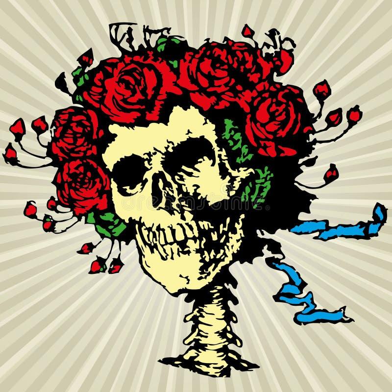 Crânio ilustração royalty free