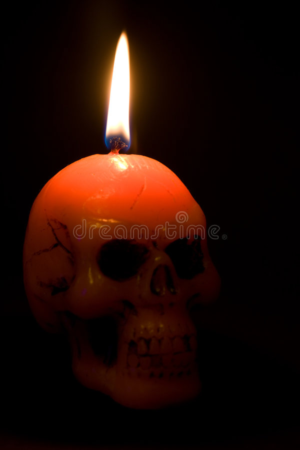 Crânio de Halloween imagens de stock royalty free