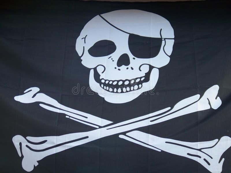 Crânio e Crossbones imagens de stock