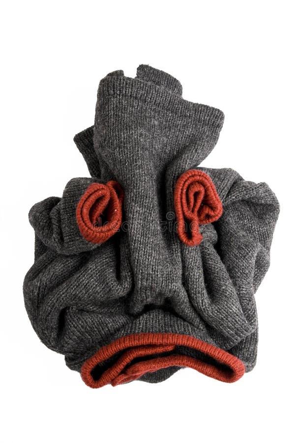 Crânio humano creativo da camisola imagens de stock