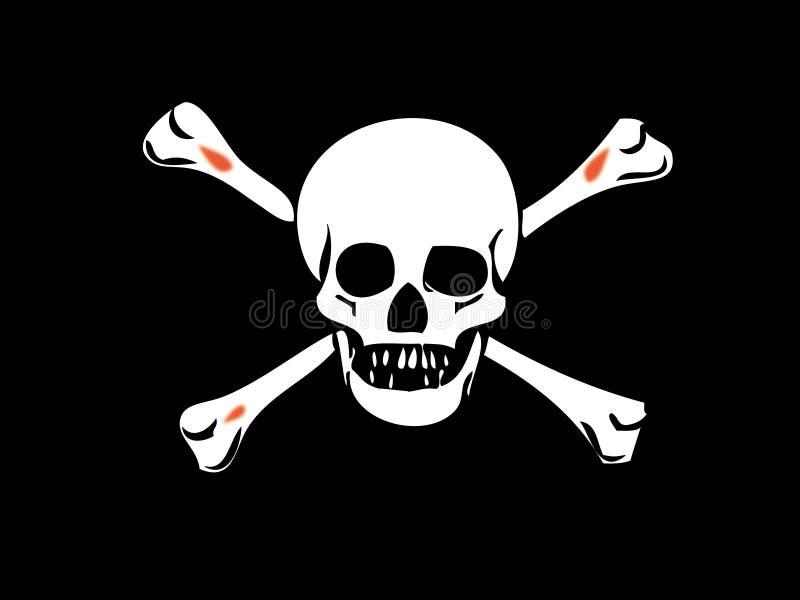 Crânio - morte-cabeça imagem de stock