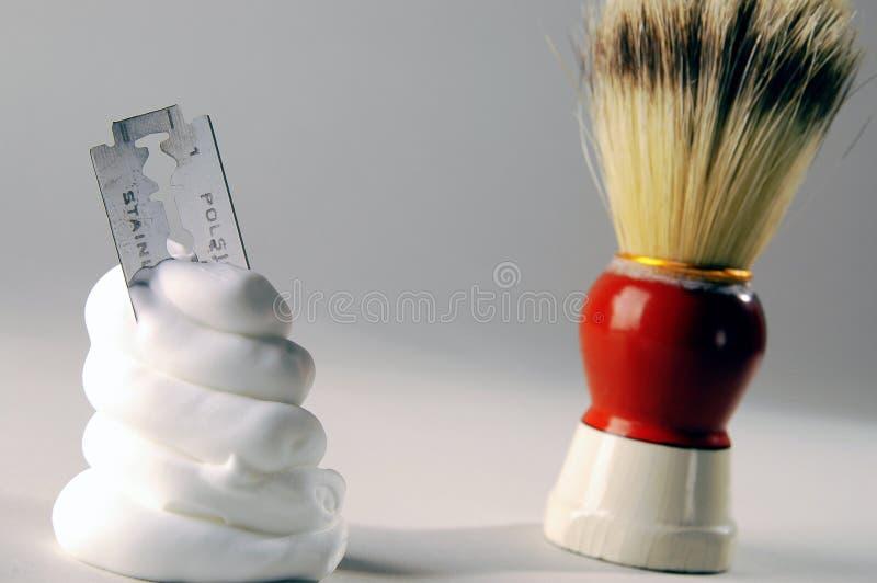 Crème à raser photos stock