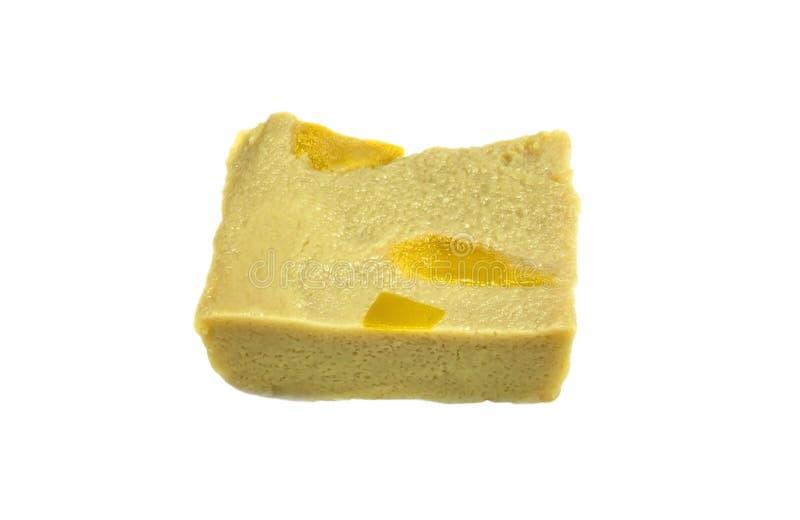Crème anglaise douce avec le potiron photos stock