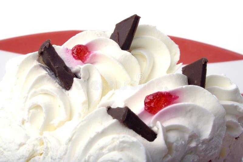 Crème Cake2 photos stock