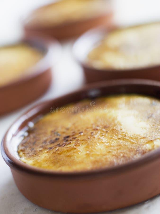crème catalanne photographie stock libre de droits