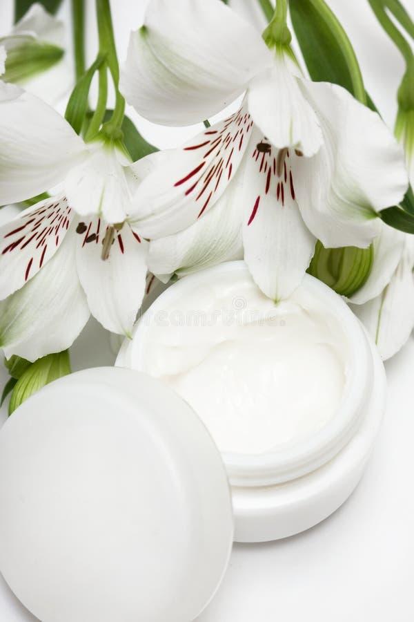 Crème d'hydratation de produit de beauté images stock