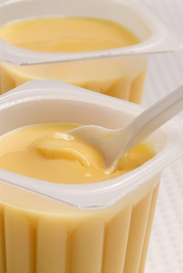 Crème de caramel. images libres de droits