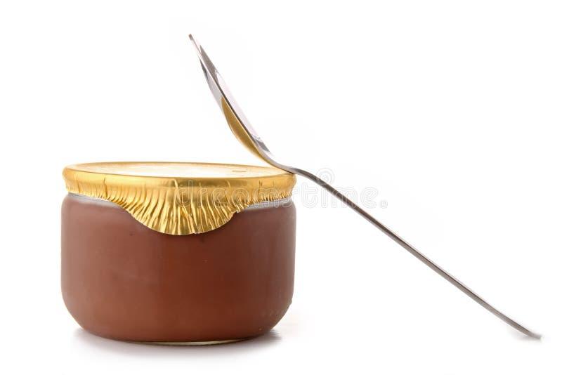 Crème de chocolat photo stock