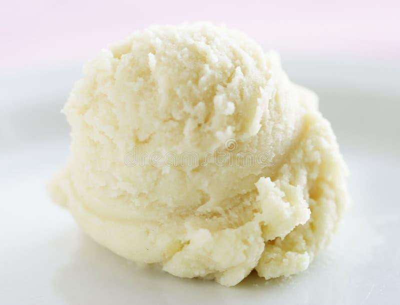 Crème de glace à la vanille images libres de droits